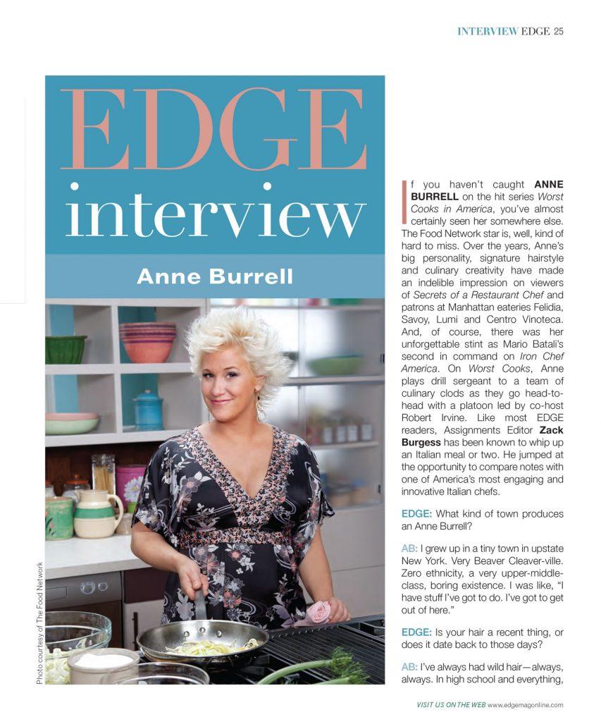 Anne Burrell