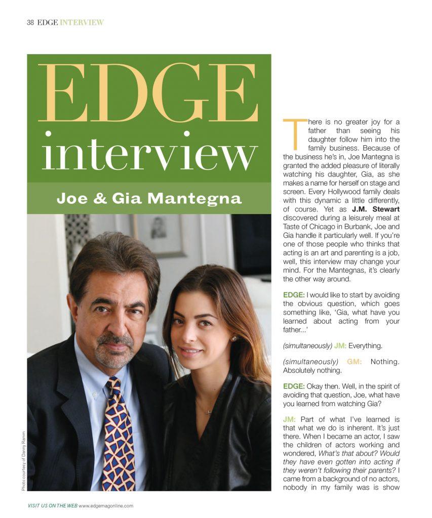 Joe & Gia Mantega