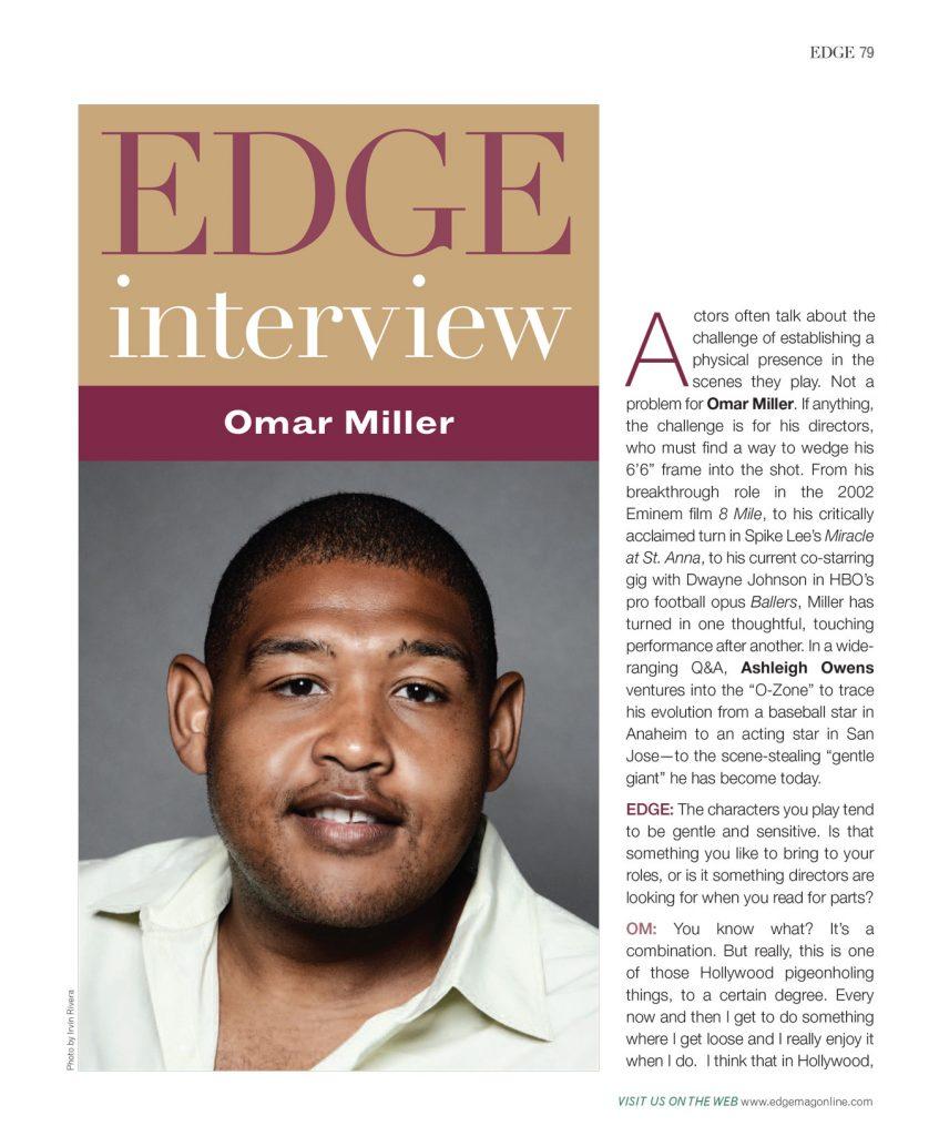 Omar Miller